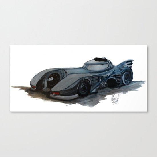 The Batmobile Canvas Print