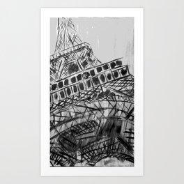 Paris Tour Eiffel Art Print