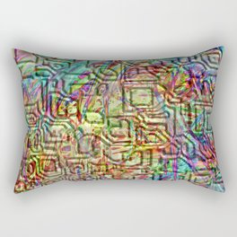 Cryptic 1 Rectangular Pillow