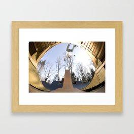 Bam Margera - Death Gap Framed Art Print