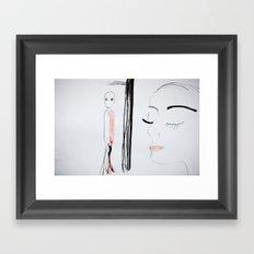 Divided Framed Art Print