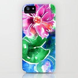 Waterlily Lotus iPhone Case