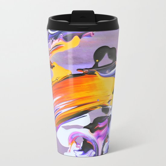 .untitled. Metal Travel Mug