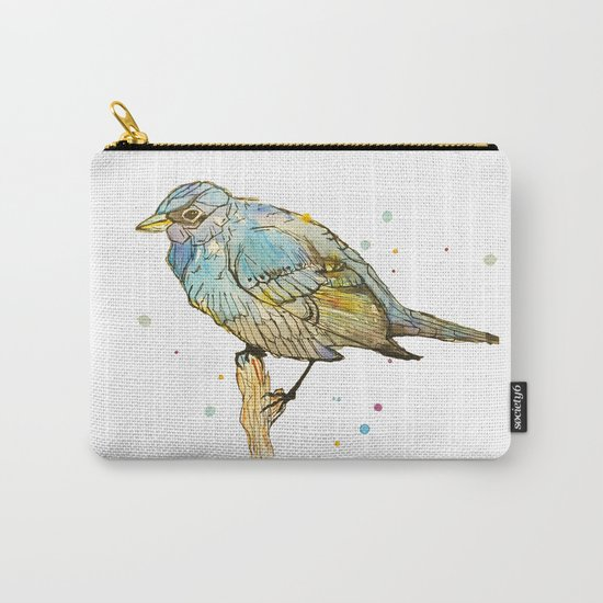 Blue Bird Carry-All Pouch