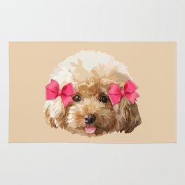 Baby Poodle Rug