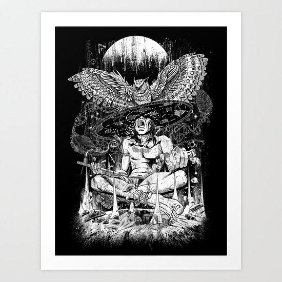 Spirit Owl Art Print