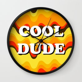 Cool Dude Wall Clock
