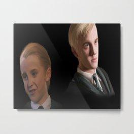 Draco Malfoy Metal Print