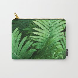 Fern Photography | Tropical Leaves | Nature | Jungle | Rainforest | Tropical | Minimalism Carry-All Pouch