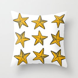 Sea-life Collection - Starfish Throw Pillow