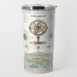 Uranographic and Cosmographic Chart (1852) Travel Mug
