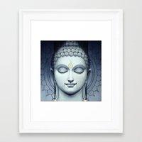 buddah Framed Art Prints featuring BUDDAH by I Love Decor