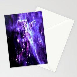 Vibrant Violet nebUla. Stationery Cards