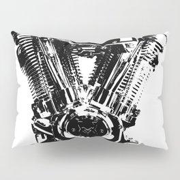 Motorcycle Engine Pillow Sham