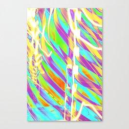 Light Dance Candy Ribs edit1 Canvas Print