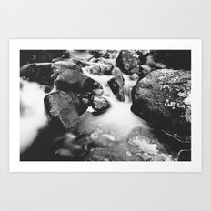 Streams of Living Water Art Print