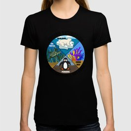 Facing Extinction:  Global Warming's Not Cool 2 T-shirt