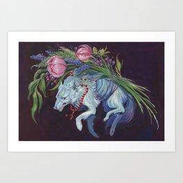 Lupine Art Print