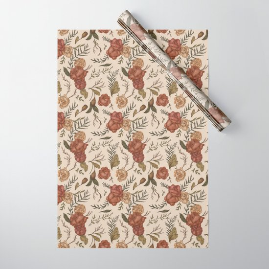 Antique Floral Pattern by jessicaroux