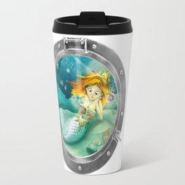 How mermaids get new books Travel Mug