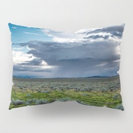 Desert Rain - Summer Thunderstorms Near Taos New Mexico Pillow Sham
