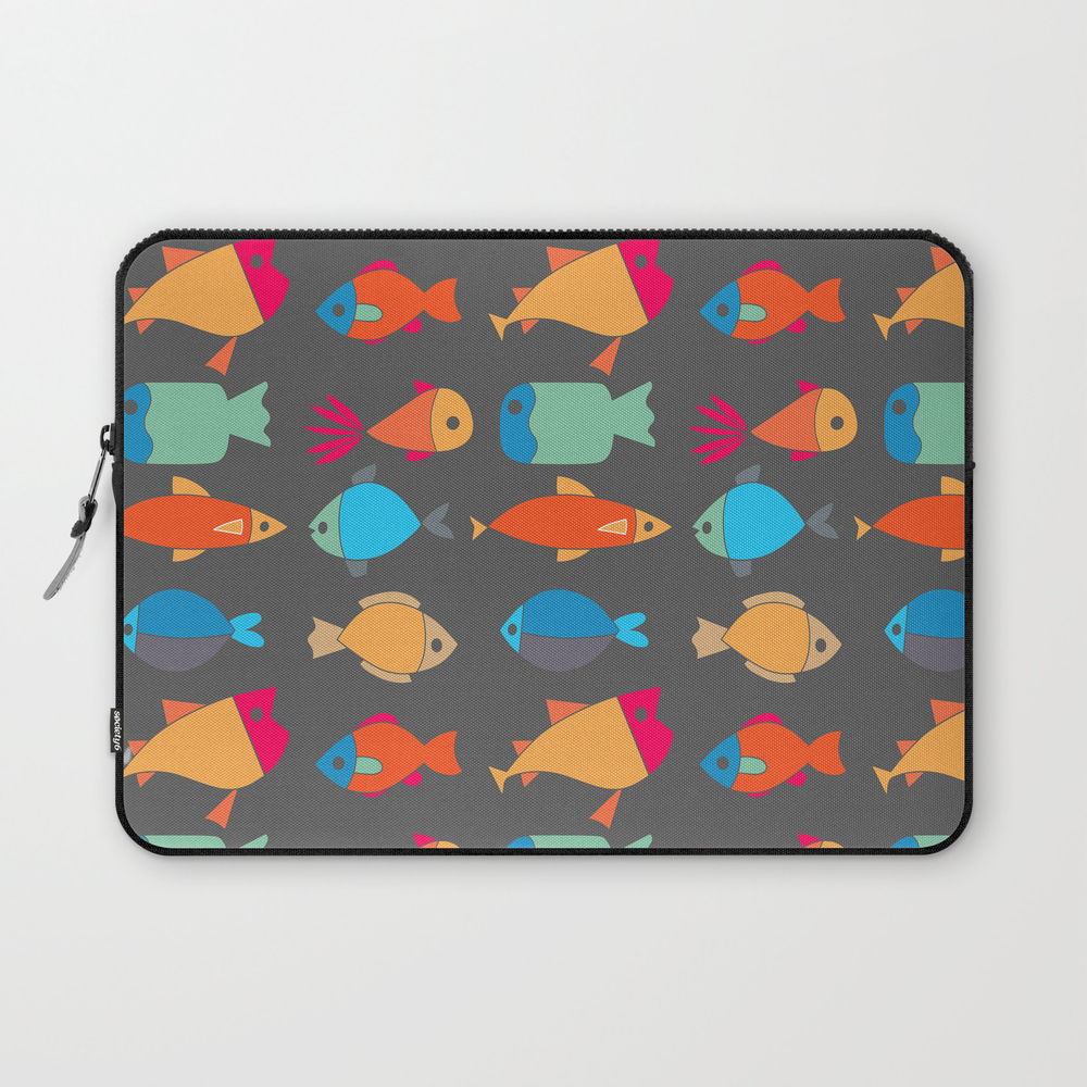 Swim Little Fishie, Swim! Laptop Sleeve LSV7692712