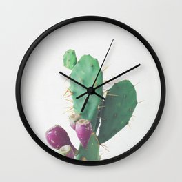 Prickly Pear Wall Clock