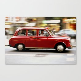 LDN Taxi Canvas Print