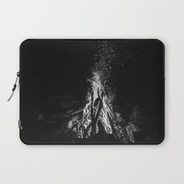 Camp Fire Vibes Laptop Sleeve