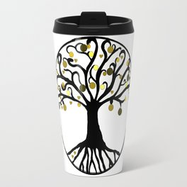 """Yggdrasil"",Golden,Tree of Life,HOME DECOR,Duvet Covers,Comforters,Bed spreads,Blankets,Backpack Travel Mug"