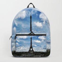 Paris France Backpack
