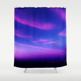 City by Atlantic Shower Curtain