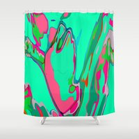blur Shower Curtains featuring Blur by Caitlin Ramsay