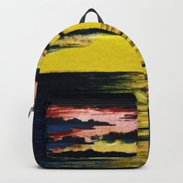 California Sunset by Granville Redmond Backpack