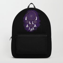 Classic Dreamcatcher: Purple background Backpack