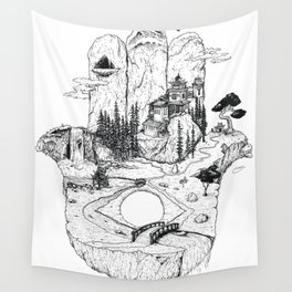 Hamsa in Nature Wall Tapestry