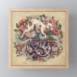 Dust Bunny Framed Mini Art Print