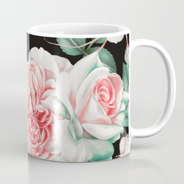 Dark floral bloom Coffee Mug