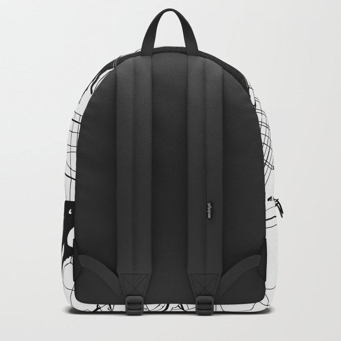New York City Minimal Map Backpack