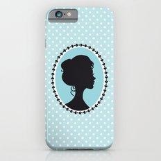 Blue cameo Slim Case iPhone 6s