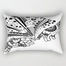 Creation of human Rectangular Pillow