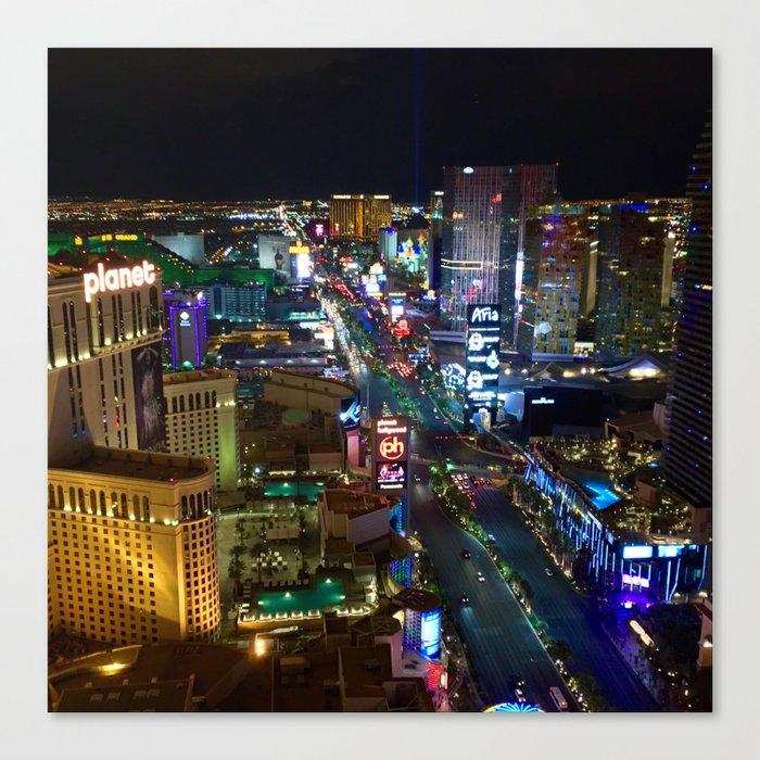 Vegas Strip 2 Canvas Print