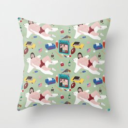 Sexy Bachelor Pattern Throw Pillow