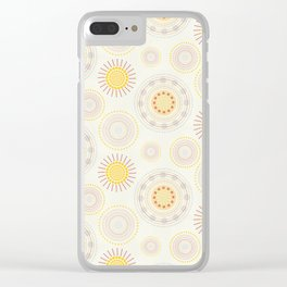 Suzani inspiration Clear iPhone Case