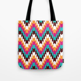 Tribal Chevron II Tote Bag