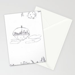 Above the Ash Stationery Cards