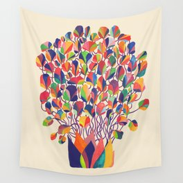felicitous Wall Tapestry