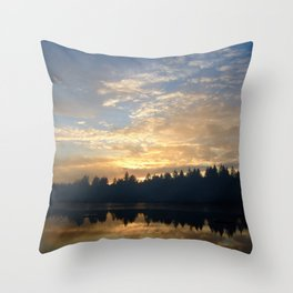 It's My Lake in a Box! Throw Pillow