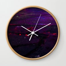 Spilled Lights Wall Clock