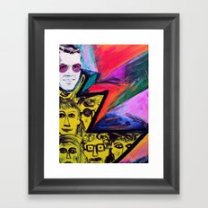 Ray of People Framed Art Print